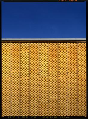 Fassade der Berliner Philharmonie am Kulturforum bzw Kemperplatz | Sharoun