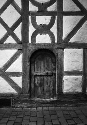 Riedlingen, Schwäbische Alb, Alte Holztür in der Altstadt von 1686 - © bildraum-f | fotografie